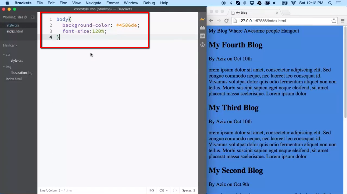Creating a Blog Design (Part 2 of 3) - iLoveCoding