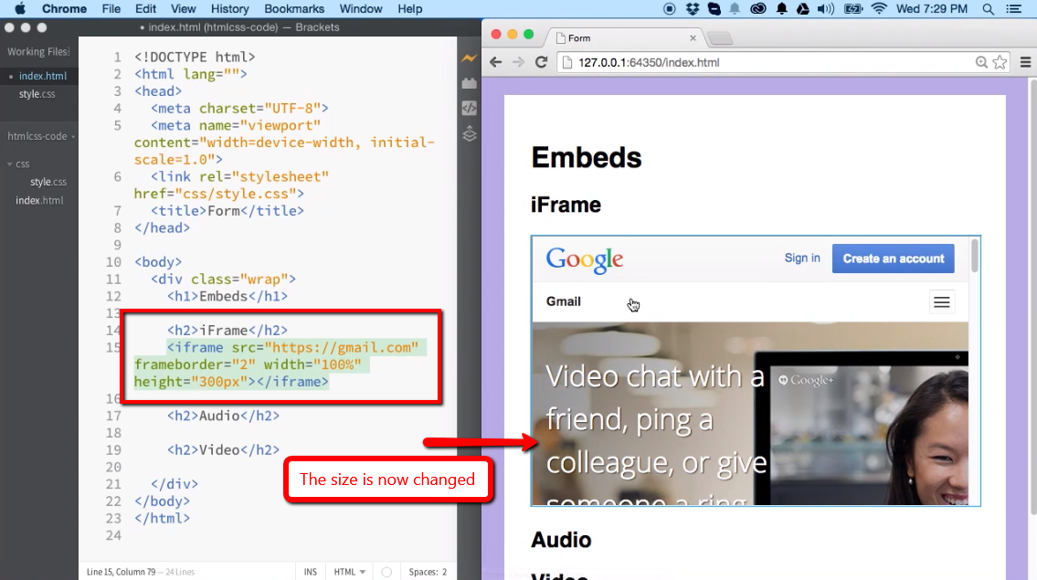 Embeds: Video, Audio and iFrame Elements - iLoveCoding