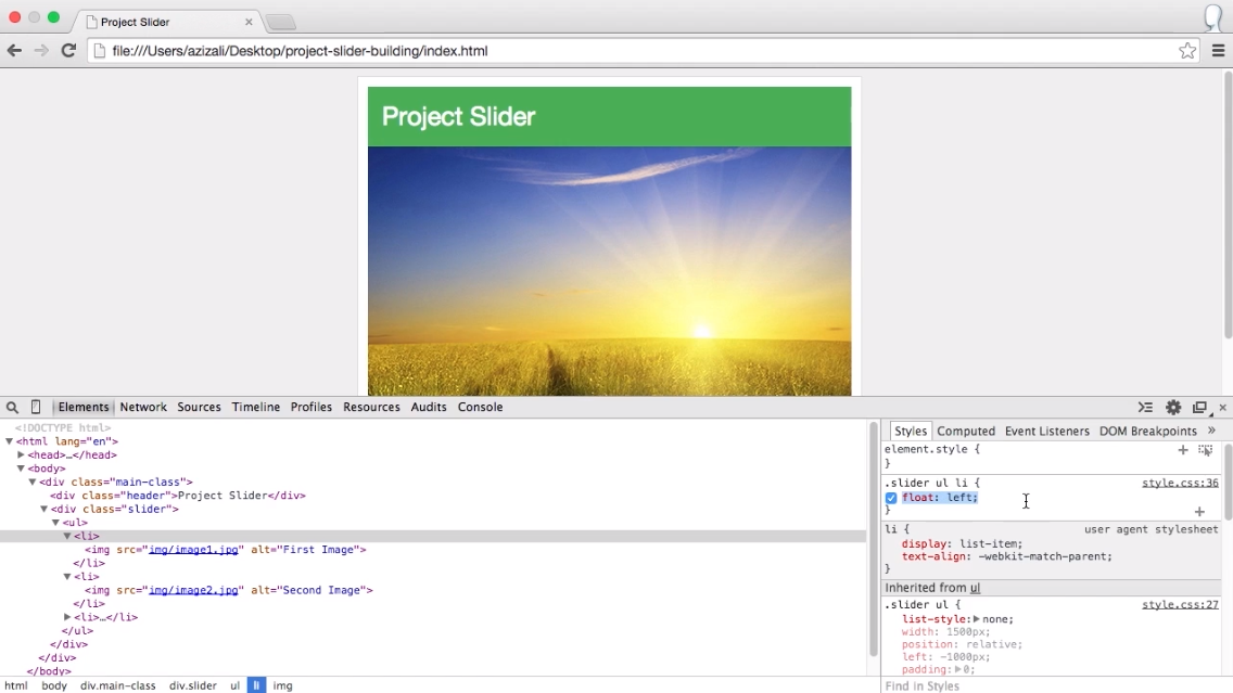 Project: Create your own Image Carousel Slider with jQuery - iLoveCoding