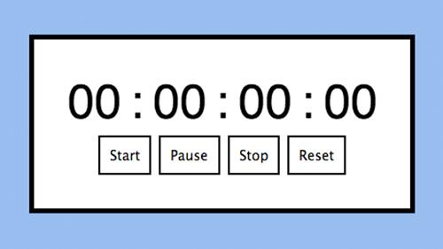 start stopwatch javascript